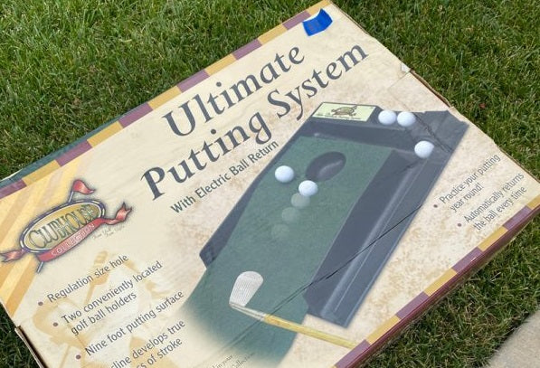Spotted at a Yard Sale – The Ultimate Putting System