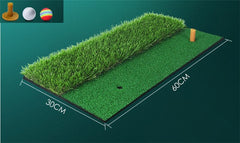 LOFTYFREE Backyard Golf Mat | Indoor Residential Training Hitting Pad Practice