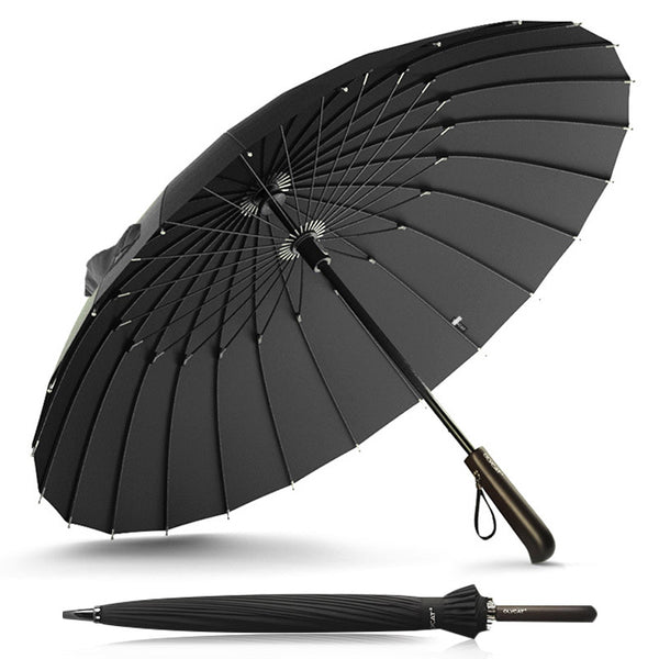 Olycat Creative Handle | 24k Strong Windproof High Quality Business Umbrella Long Golf Fiberglass