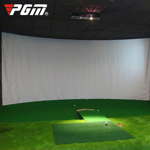 PGM Indoor Golf Simulator Curtain Strike Cloth Target Cloth Projection