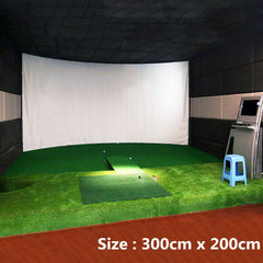 Golf Ball Simulator | Impact Display Projection Screen Indoor