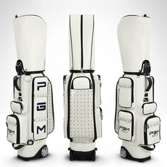 Pgm Golf Standard Bag | PU Waterproof Golf Bags Multi-Purpose Aviation Packages Travel Bags With Wheels