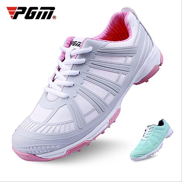 PGM Women's Golf Shoes | Double Patented Golf Shoes Waterproof and Side Slip-proof