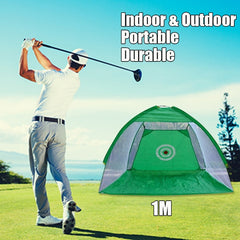 PGM Golf Training Aids | Indoor Outdoor Foldable Golf Practice Net