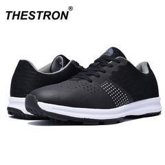 Mangobox New Golf Shoes for Men | Professional Waterproof Golf Training Sneakers Spikeless Golfing Trainers