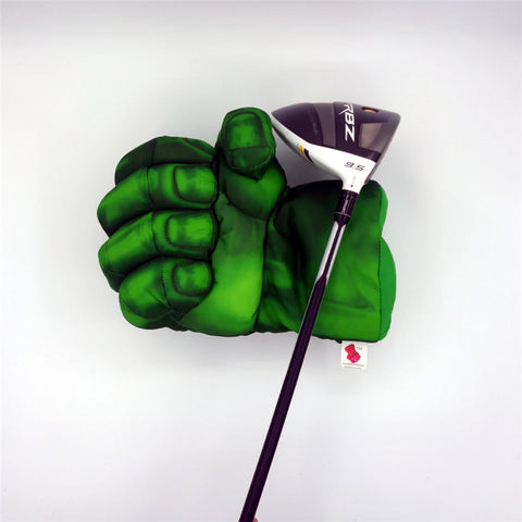 Green Hand The Fist Golf Driver | Headcover Boxing Wood Golf Cover
