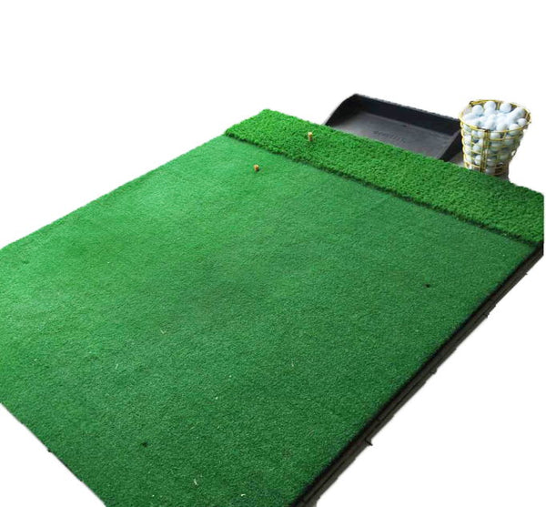 Thickened Glue Layer Driving Range Golf Mat Set