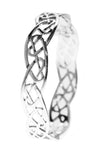 Celtic Jewellery | Heart Filigree Knot Bangle