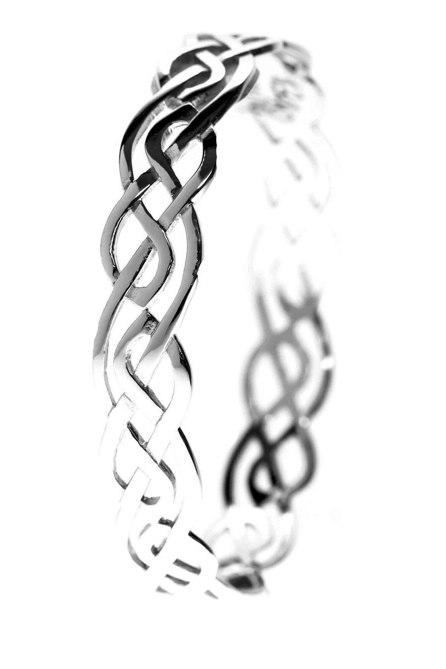 Celtic Jewellery | Filigree Knot Bangle with Endless Knots