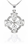 Celtic Harmony Cross with Circle of Life Pendant