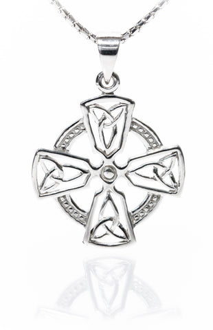 Celtic Jewellery | Harmony Cross with a Circle of Life | Pendant
