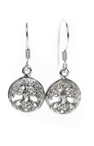 Tree of Life Jewellery | Earrings with Celtic Knots