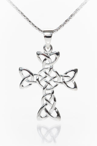 Celtic Jewellery | Knot Cross Pendant