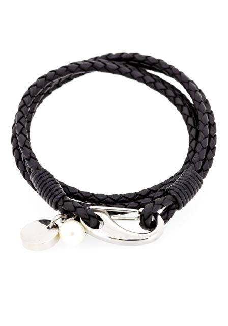 Pearl bracelet | Quality Leather with pearl