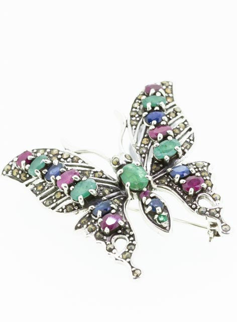 Silver Butterfly Broach | Sale special 50% OFF