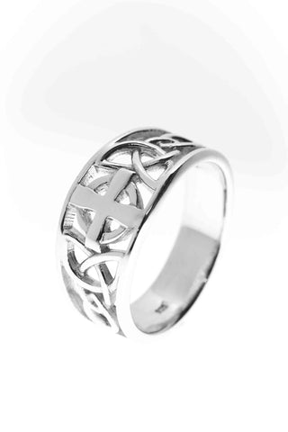 Celtic Jewellery | Transformation Knot Ring | Change is always present