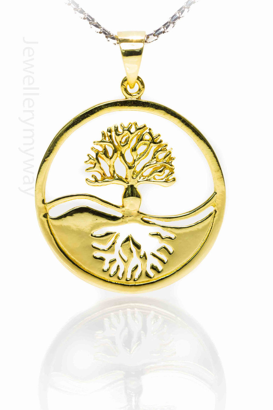 Tree of Life Reflection Celtic Knots Pendant