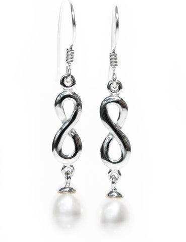 Infinity Jewellery | Classic Pearl Drop Earrings