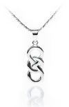 Circle of Life Pendant with Inifinity Symbol
