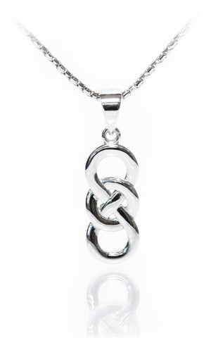 Celtic Jewellery | Circle of Life Pendant Entwined with the Infinity Symbol