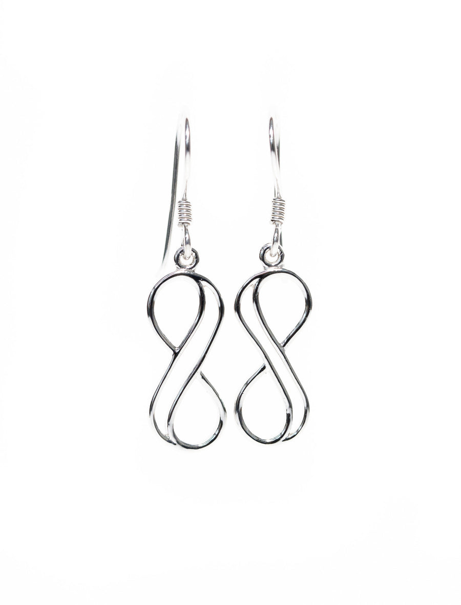 Double Line Earrings from the Infinity Range