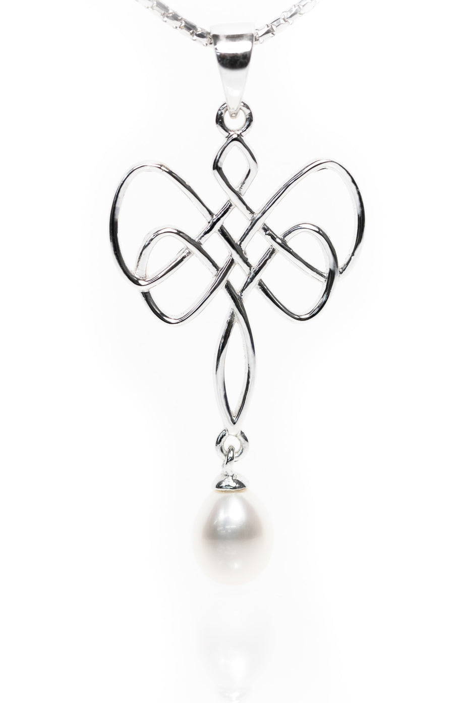 Drop Pearl Pendant from the Infinity Range