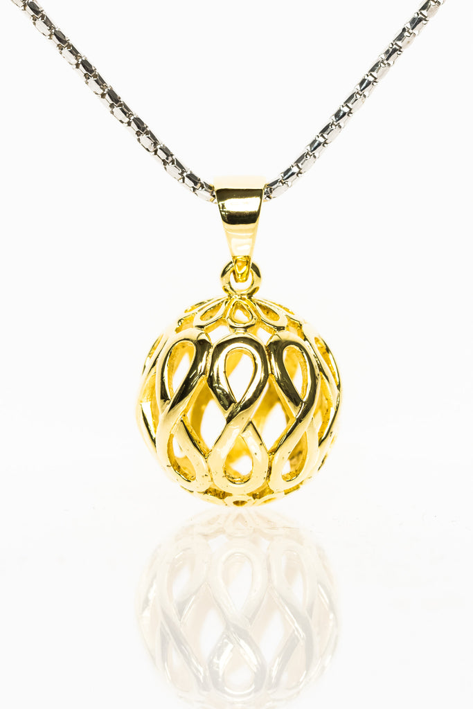 Gold Orb Pendant from Infinity Range