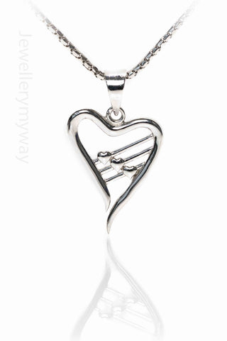 Jewellery My Way Harp Pendant