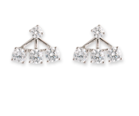 Bianc Jewellery | Earrings | CZ Trio pair