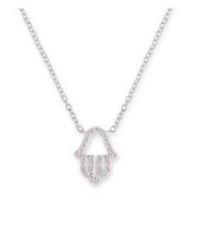Bianc Jewellery | Necklaces | Cz Hand of Hamsa