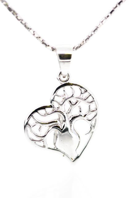Tree of Life Jewellery | Boab Tree Heart Pendant | Beautiful Heart Pendant