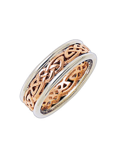 Celtic wedding band | Serenity & Calm