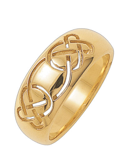 Celtic knot wedding band | Symbol of Harmony