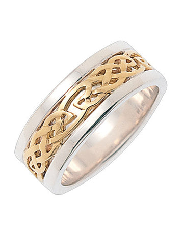 Celtic Knot Wedding band | A passion for life & Love