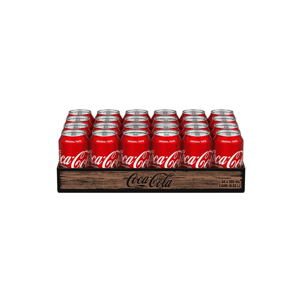 Coca-Cola, 24 pack, 355 mL cans