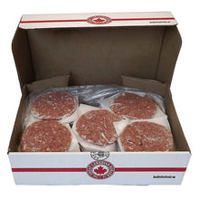 Load image into Gallery viewer, The Great Canadian Burger Co. Frozen Cowboy beef burger patties - 40 pieces