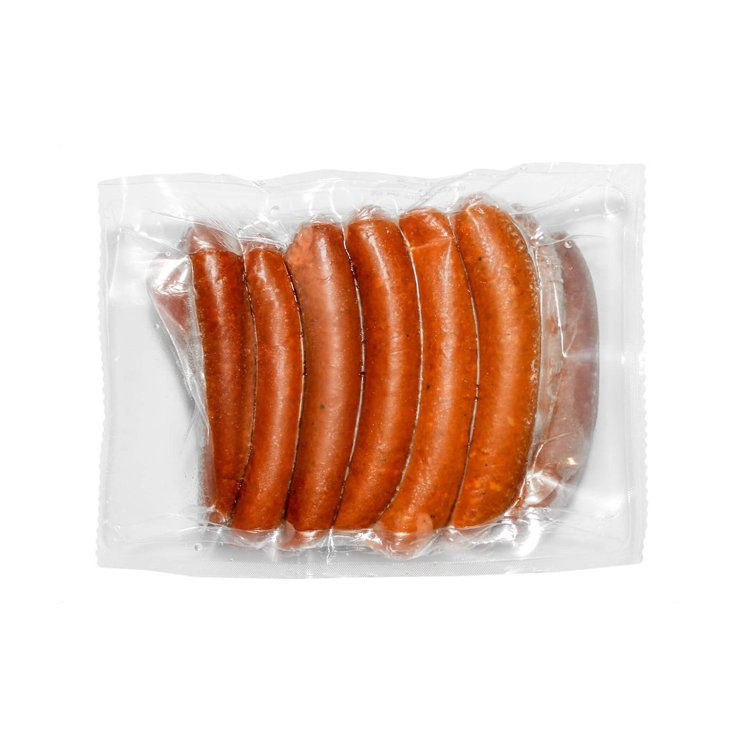 20 Champs premium 7 inch hot Italian sausages