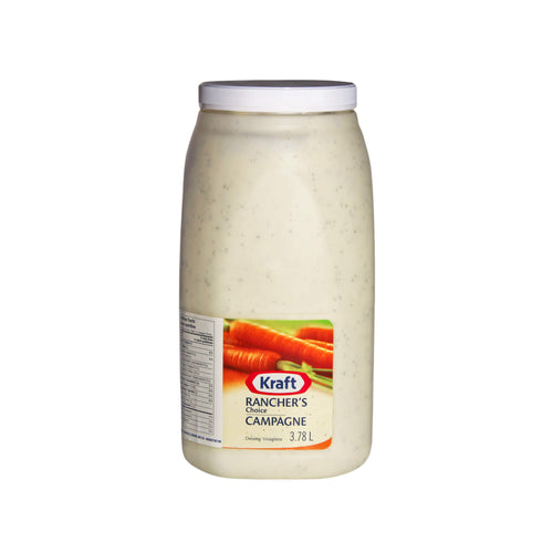 3.78 L of Kraft rancher's choice dressing