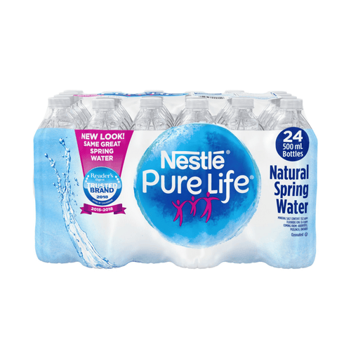 Nestle Pure Life natural spring water 24 pack