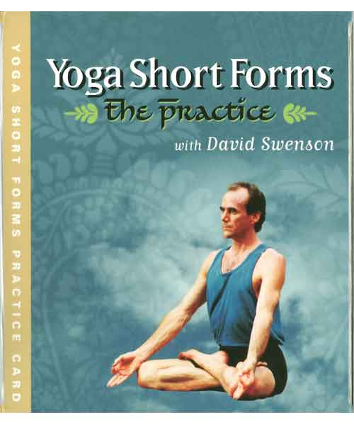 【教材】The Practice Ashtanga Yoga yoga short forms practice card (David Swenson)
