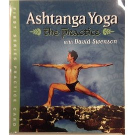 【教材】The Practice Ashtanga Yoga the first series practice card (David Swenson)
