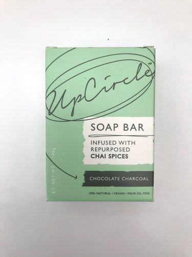 Organic Chocolate Charcoal Chai Soap Bar