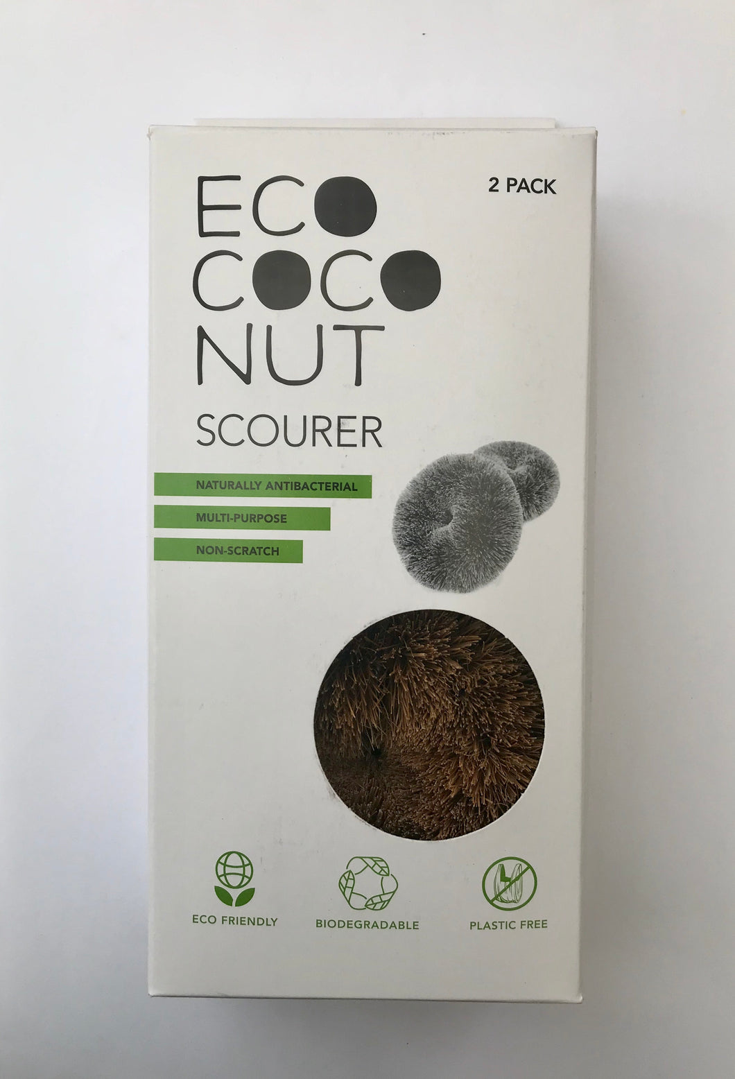 Ecoconut Scourers (pack of 2)