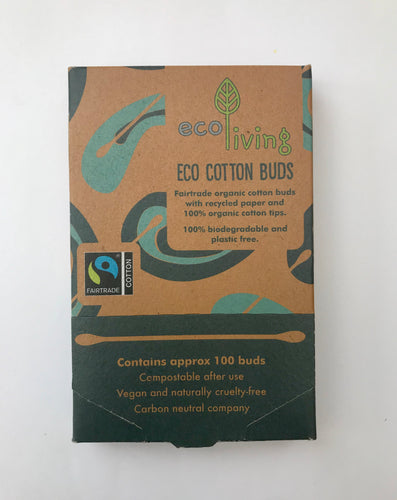 Organic Fair-trade Cotton Buds