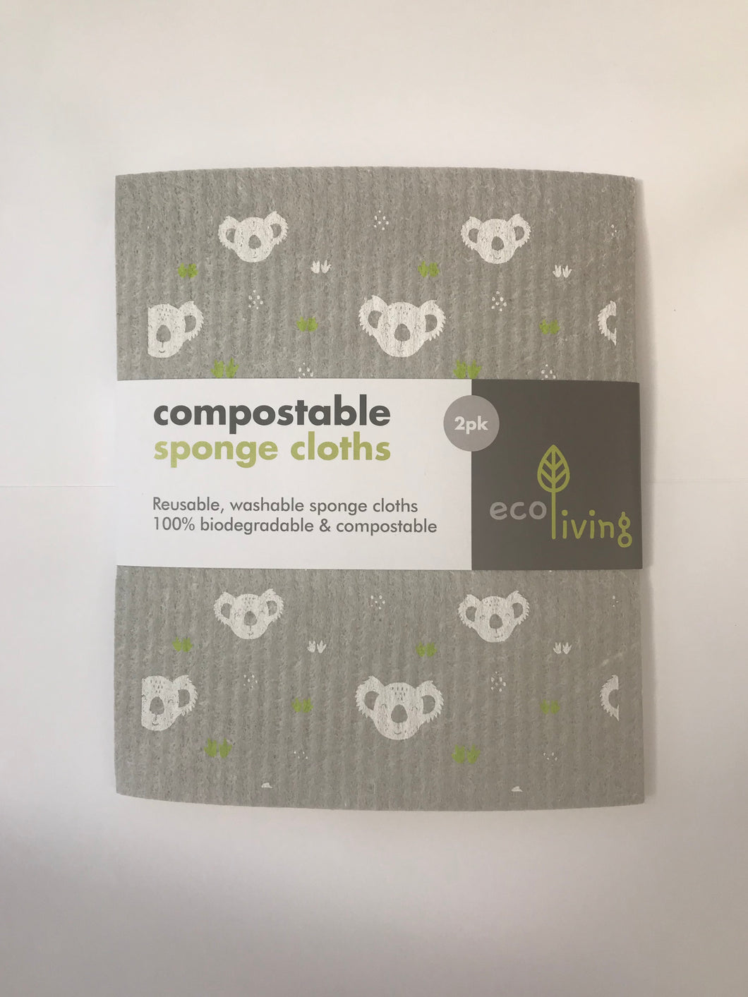 Compostable Sponge Cleaning Cloths
