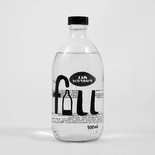 Fill All Purpose Cleaner in Glass Bottle, honeysuckly