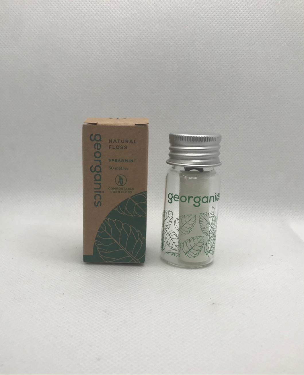 Vegan Dental Floss in Refillable Container