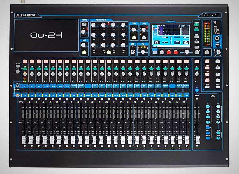 🇬🇧 Allen & Heath Qu-24