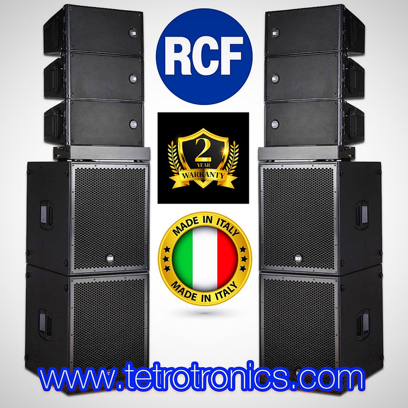 🇮🇹 RCF HDL 10A Ground Stacked High Quality Pa.
