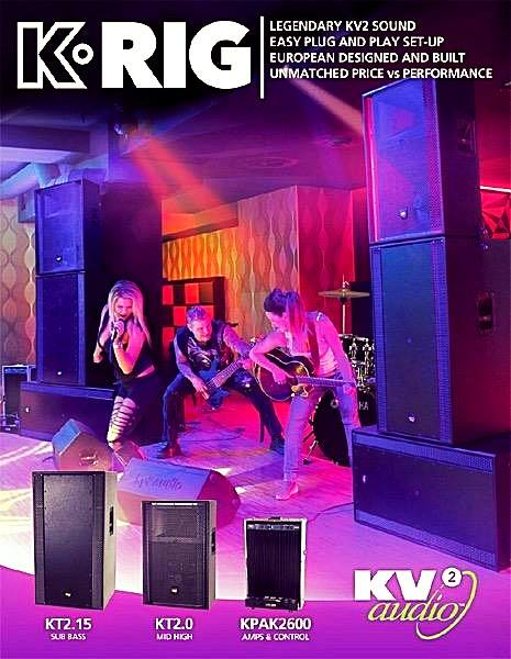 🌏 Kv2 Audio K-Rig Demo System😍🤩